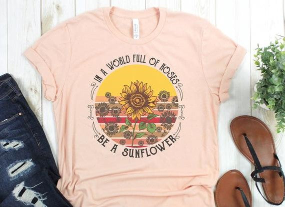 Be a Sunflower Tee