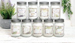 Beautiful Family & Friends Inspirational Candles