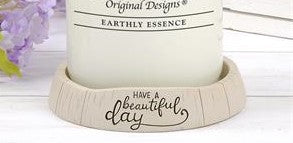 Have A Beautiful Day - Candle Holder