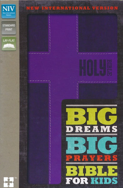 NIV Big Dreams, Big Prayers Bible for Kids
