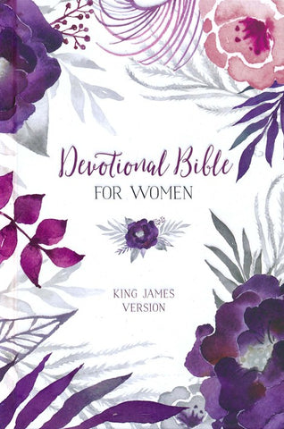 KJV Devotional Bible for Women, floral