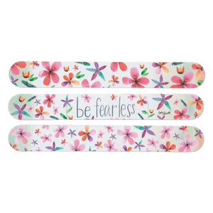 Be Fearless Floral Emery Board Set