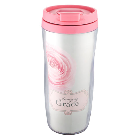 """Amazing Grace"" Polymer Travel Mug"
