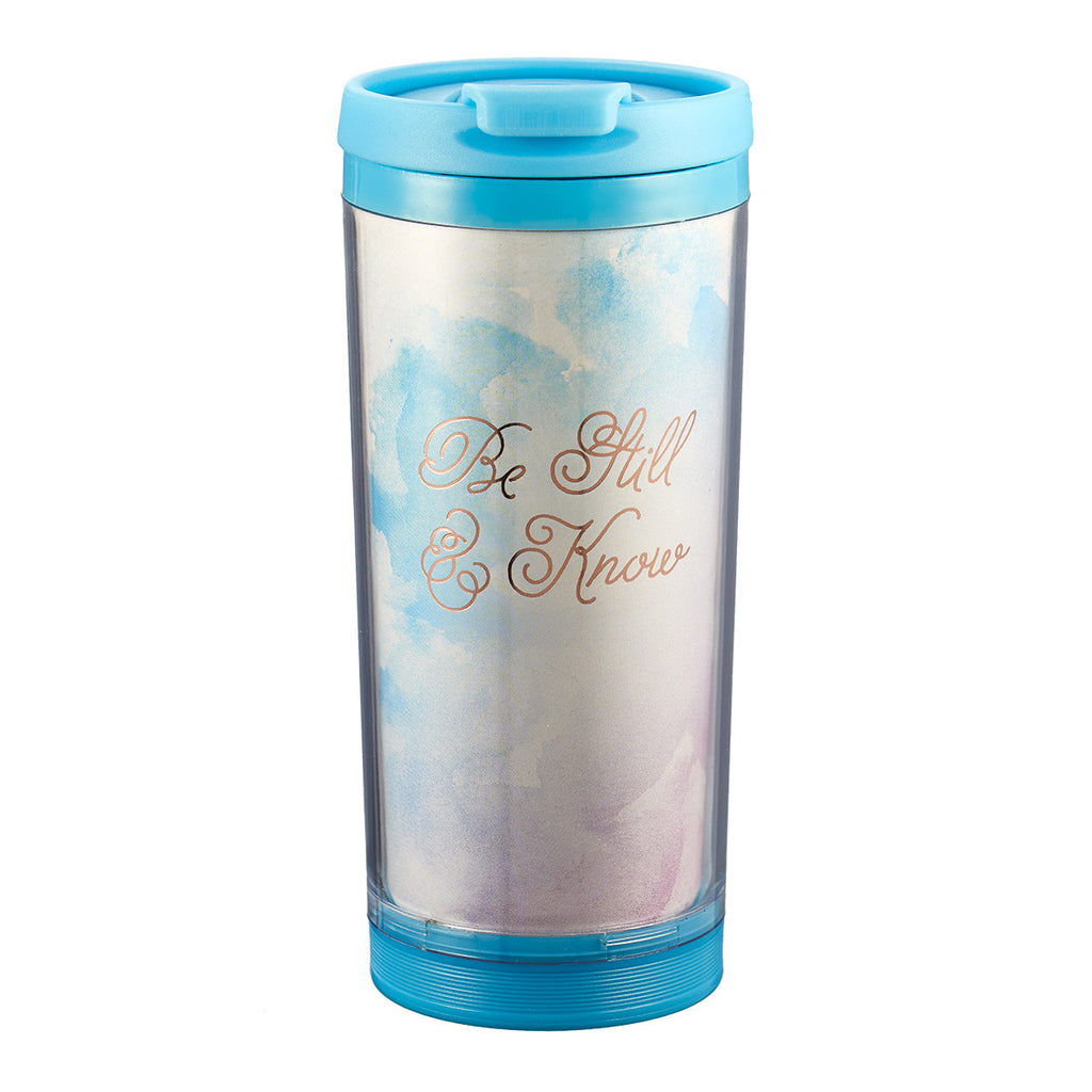 Be Still & Know - Travel Mug Polymer