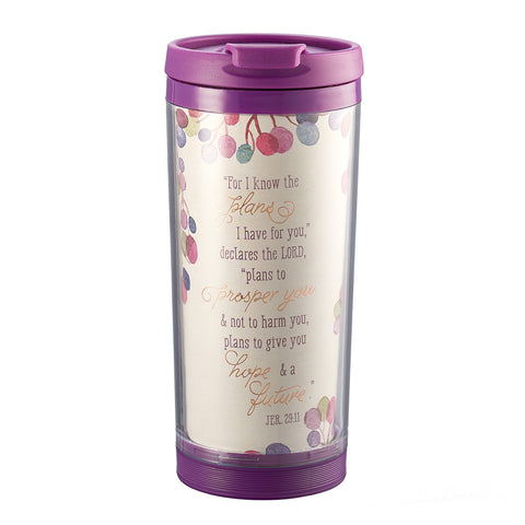 I Know the Plans - Travel Mug Polymer