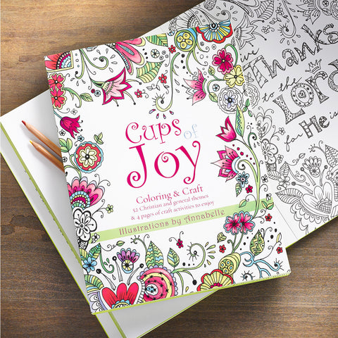 Cups of Joy - Color/Craft Book
