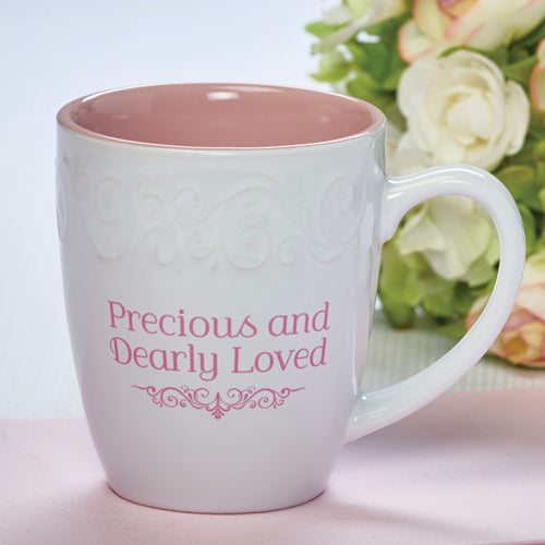 Corinthians Precious and Dearly Loved ceramic mug & gift box