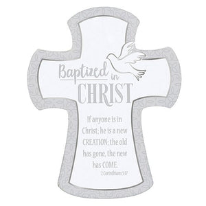 Baptized In Christ - Wall Cross