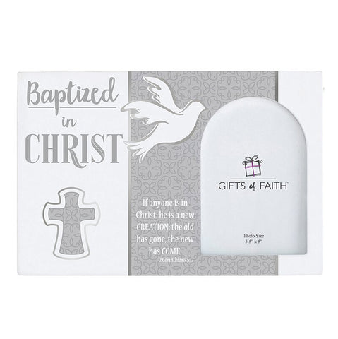 Photo Frame - Baptized In Christ