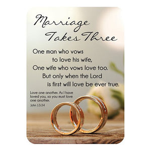 Verse Cards™ - Marriage Takes Three