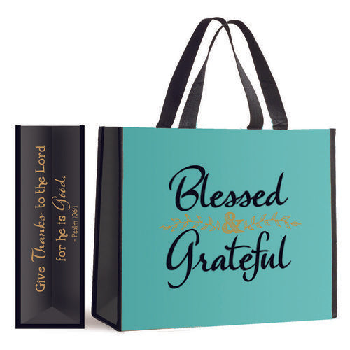 Giant Inspirational Nylon Tote Bags - Assorted