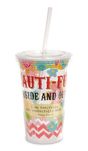 Beauti-full Inside and Out Tumbler