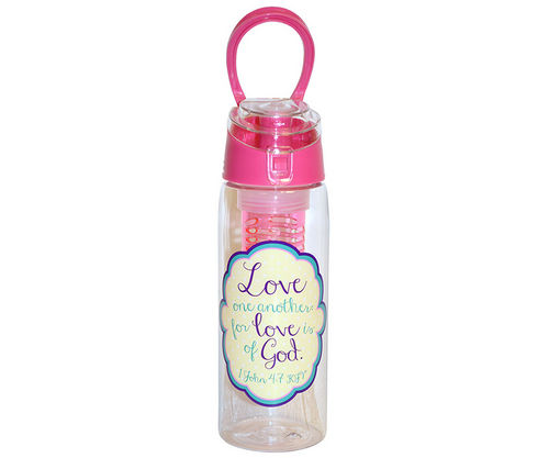 Infused Water Bottles with Scripture