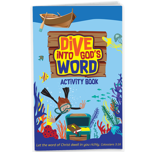 Dive into God's Word Kids Activity Book