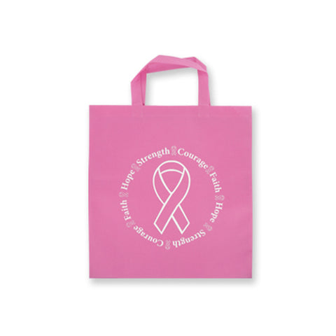 Breast Cancer Canvas Tote