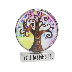 Mini Circle Tree Inspirational Figurine
