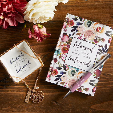 Blessed is She Who Has Believed Journal