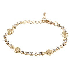 First Communion Crystal Bracelet