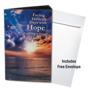 Facing Difficult Days With Hope -- Pocket Book & Envelope