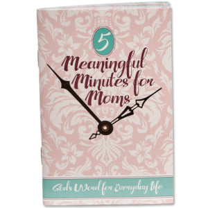 Meaningful Minutes for Moms Booklets