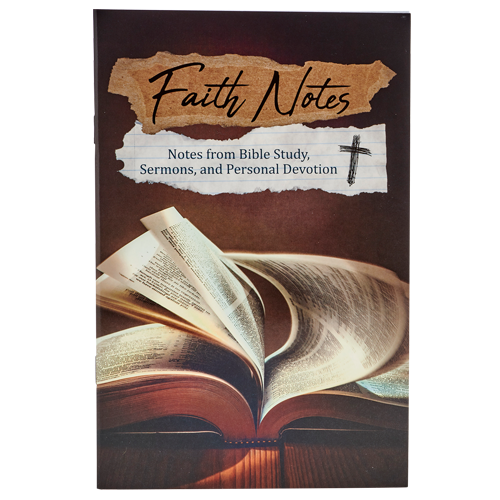 Faith Notes - Note and Study Journal