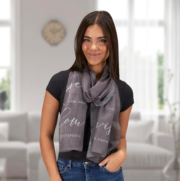 Inspirational Woman's Scarves
