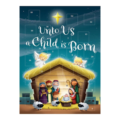 Unto Us a Child is Born Advent Calendar