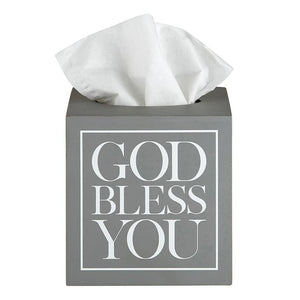 God Bless You Tissue Box Covers
