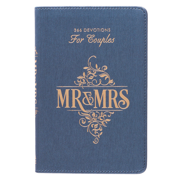 Mr. and Mrs. Faux Leather Devotions for Couples