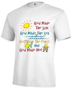 God Made Me Children's Tee - Toddler and Youth