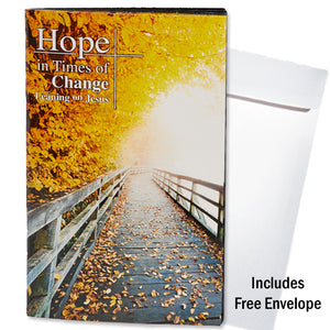 Hope in Times of Change -- Pocket Book & Envelope