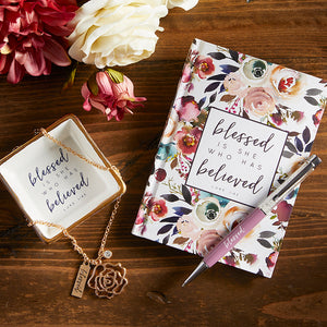 Scripture Ceramic Jewelry Tray