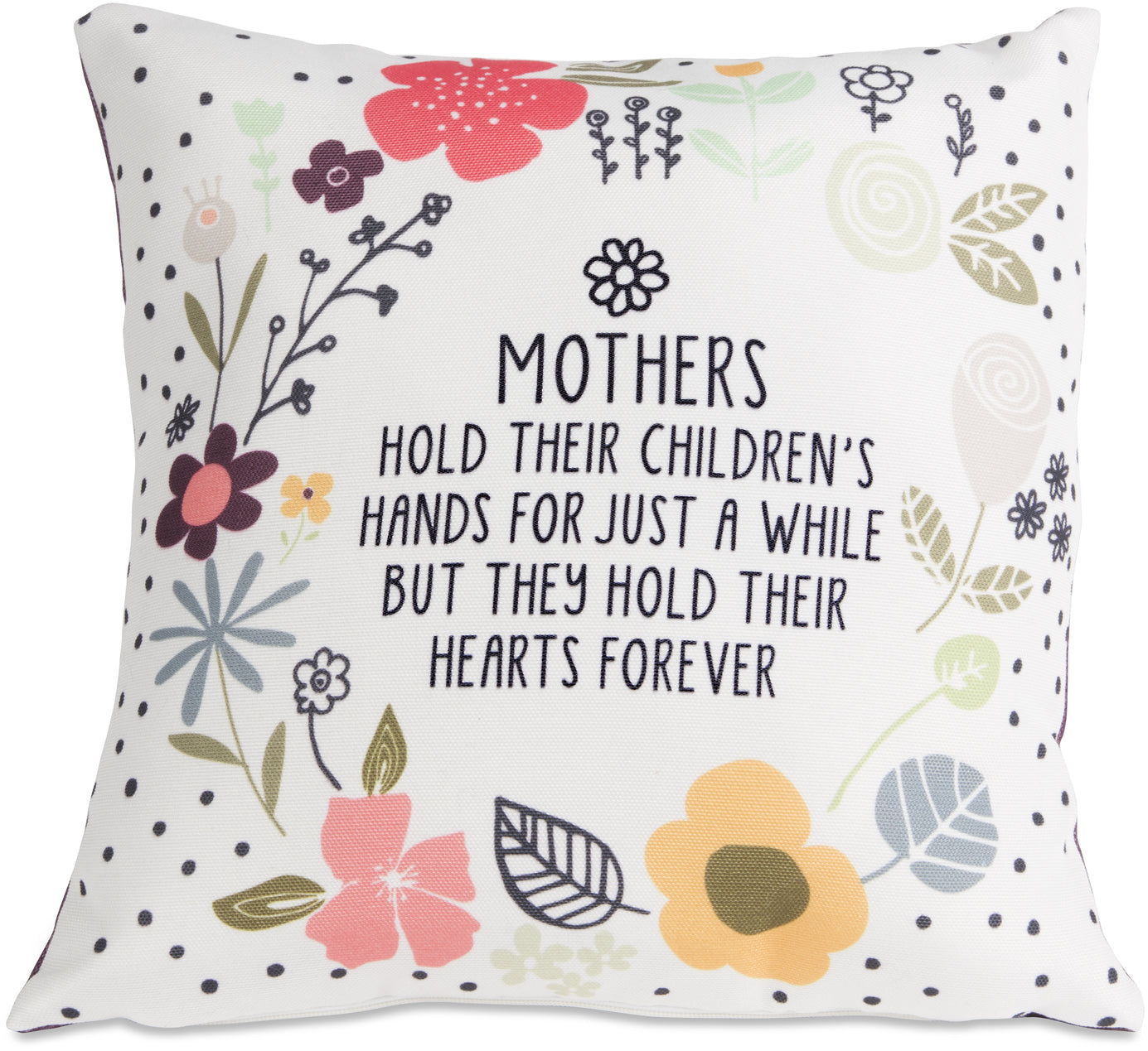 "Mothers - 12"" x 12"" Micromink Pillow"