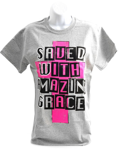 SWAG, Saved with Amazing Grace Tee
