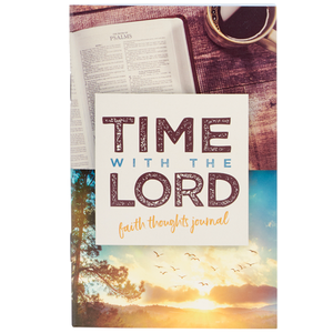 Time With The Lord - Faith Thoughts Pocket Journal