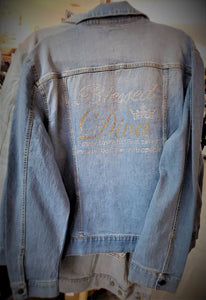 Blessed Diva Denim Jean Jacket