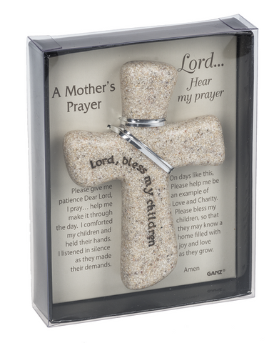 Mother's Prayer Hand Cross