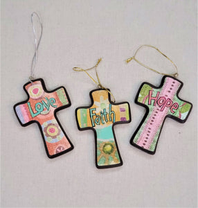 Mini Cross Ornament