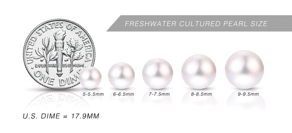 Freshwater Pearl Size Chart