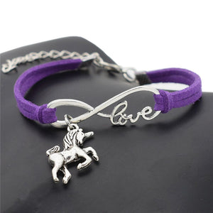 Unicorn Vintage Jewel Leather