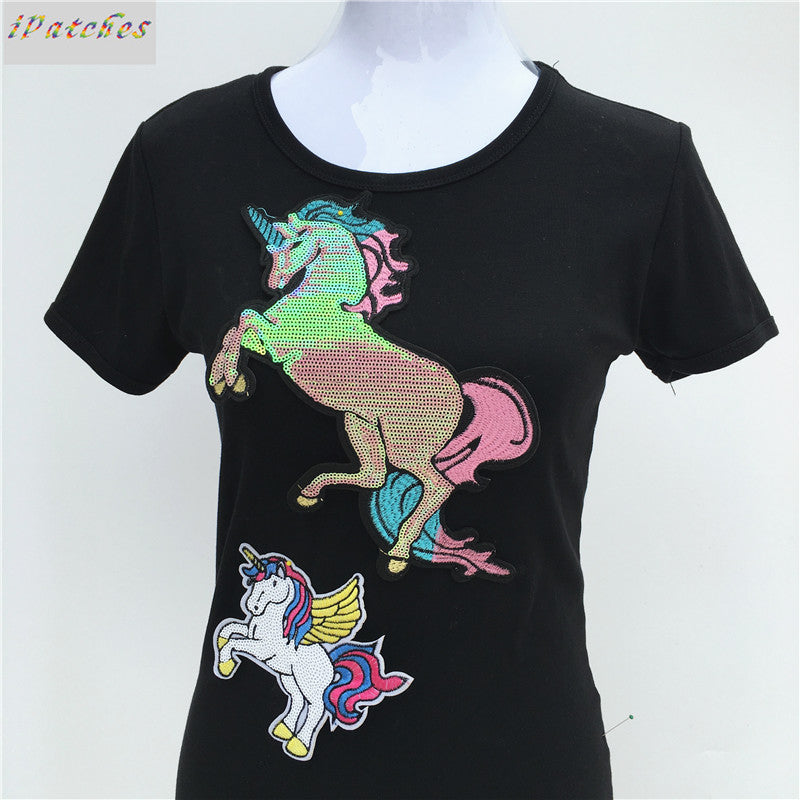 Unicorn Patches For Clothes Garment Accessories