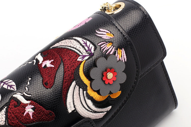 unicorn butterfly flower handbag