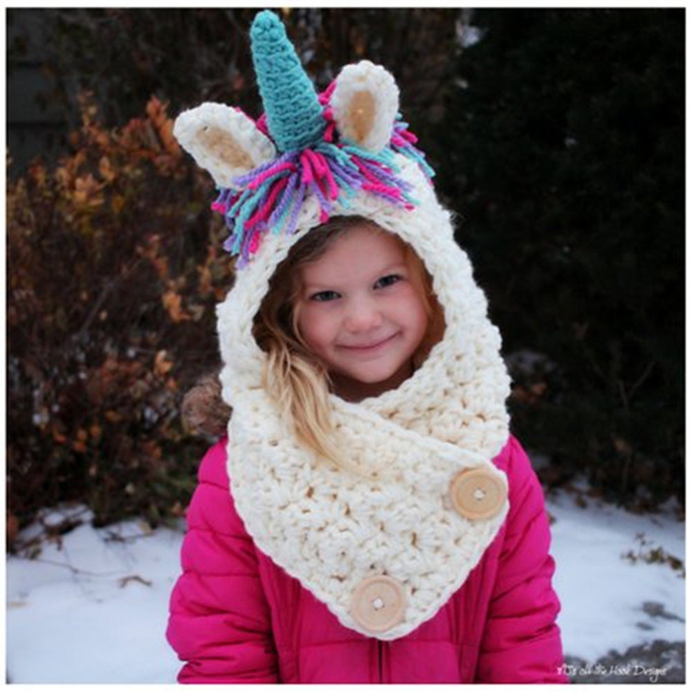 Winter Hats Kids Unicorn