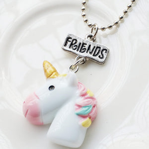 BFF Bead Chain Necklace Jewelry Unicorn