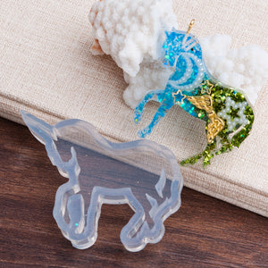Jewelry Silicone Resin Mold Box Unicorn