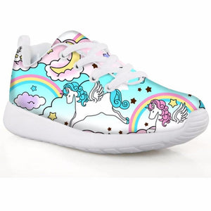 Unicorn 3D Sports Shoes for Kids Boy Autumn Comfortable Trainer School