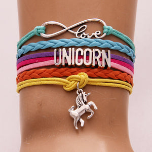 Vintage Braided Unicorn Bracelet