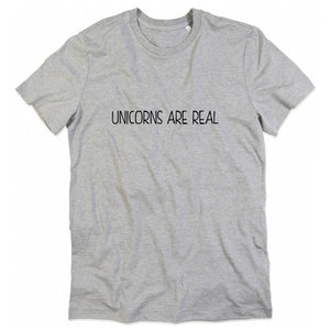 Women T shirt Unicorn are real