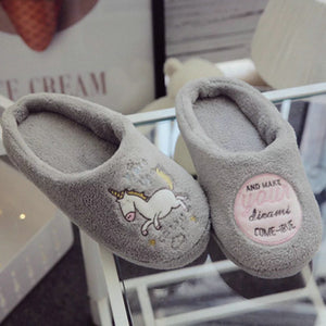 The best Cute Unicorn Women Slippers