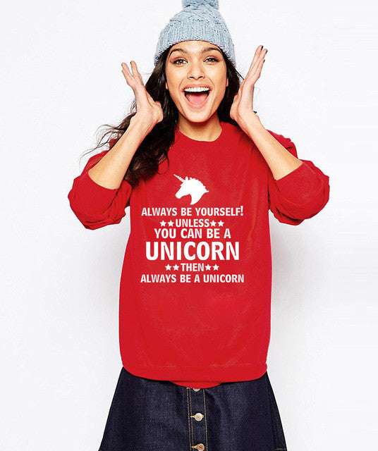 Wear a Unicorn Sweatshirt